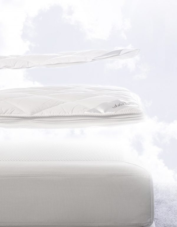 Air bäddmadrass täcke