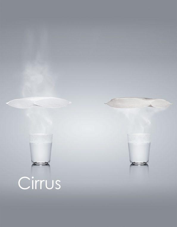 Cirrus funktionsmaterial