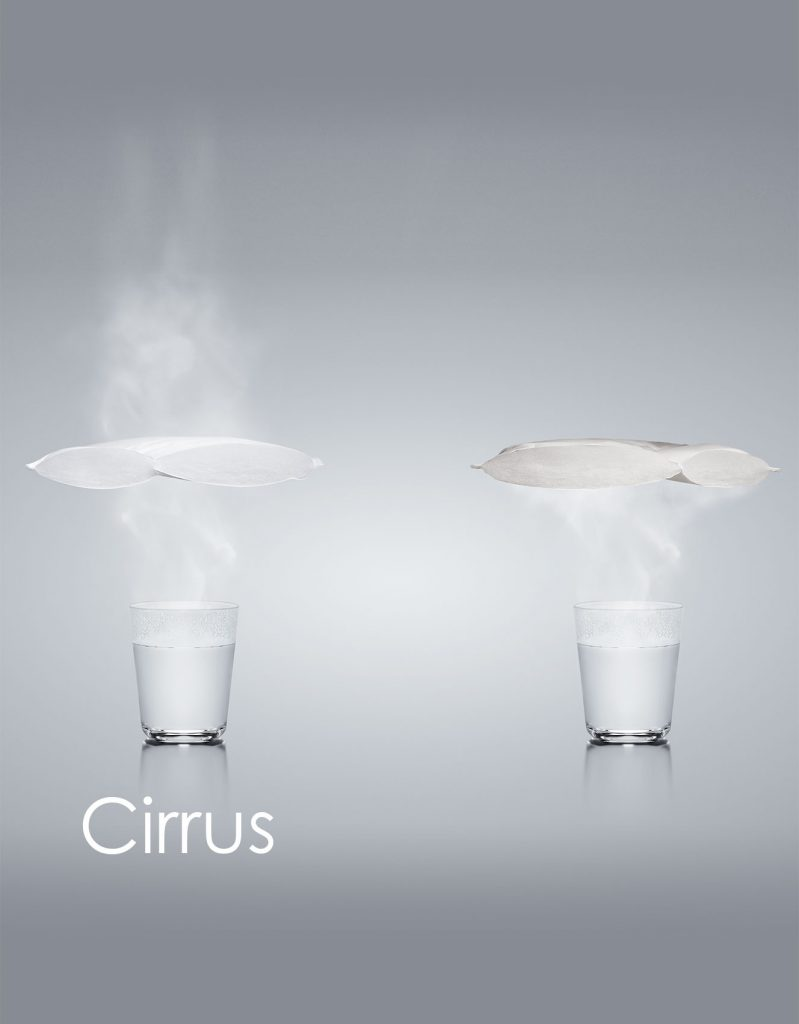 Cirrus funktionsmaterial