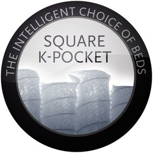 Square k-pocket Lectus sängar