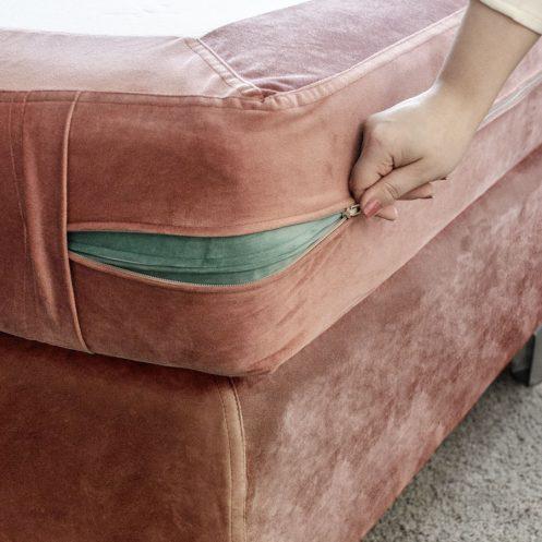 avtagbar sängklädsel Lectus.se