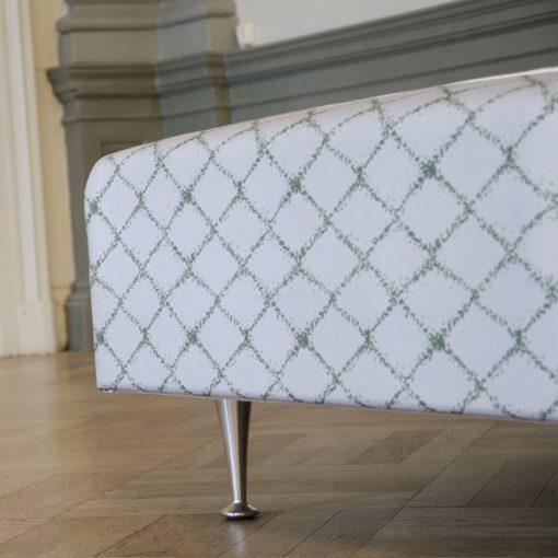 Ramsäng LECTUS FIRST™, designklädsel Elisa, grön
