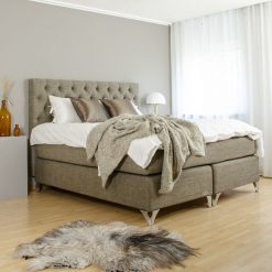Kontinentalsäng LECTUS IMPRESS™, brun