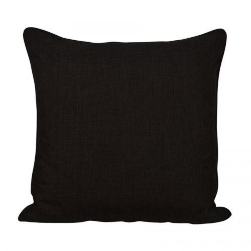 Prydnadskudde 50x50 cm, svart